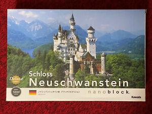 Nano-Block Schloss Neuschwanstein Castle Deluxe Edition NB-009 Japan Nanoblock