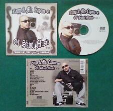 CD Zapp & Mr. Capone-E Ol'Skool Music Vol.1 HIP HOP RAP LATIN CHICANO no lp(CH1)