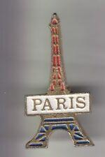RARE PINS PIN'S .. TOURISME TOUR EIFFEL TOWER PARIS 75 TRICOLORE 3 3D  ~CZ