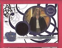 ROSE MCGOWAN PAIGE PIECEWORKS WORN ROBE RELIC SWATCH CARD CHARMED TV SHOW