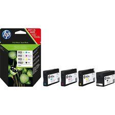 Genuine HP 950xl Black 951xl Cyan Magenta Yellow Ink Cartridges C2P43AE Original