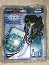Bell Phones Model 28000-M2 Mini Telephone Metallic Vintage Collectible New