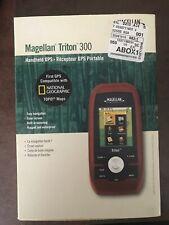 NEW Magellan Triton 300 Handheld GPS Navigator Unit portable waterproof hiking