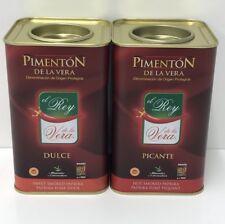 El Rey Spanish Pimenton De La Vera Quality Picante Hot Smoked Paprika 750g