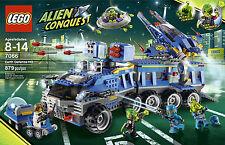 LEGO 7066 Alien Conquest Earth Defence HQ mobile launch station mini UFO NEW