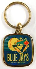 1988 Wincraft Toronto Blue Jays Dark Blue Team Logo Key Ring