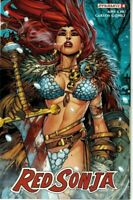Red Sonja #4 Cover B Jonboy Meyers Variant NM Dynamite 2017 Nude Risque
