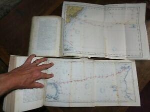 1877 THE VOYAGE OF HMS CHALLENGER THE ATLANTIC - WYVILLE THOMSON FALKLANDS 2 VOL