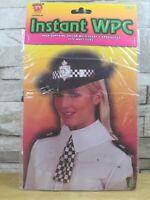 INSTANT WPC POLICEWOMAN INSTANT FANCY DRESS COSTUME ONE SIZE BNIP