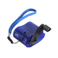 Travel Dynamo Hand Crank USB Emergency Charger Phone/MP3 Player