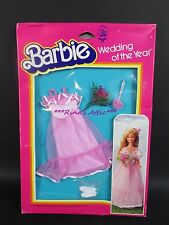 1982 Barbie WEDDING OF THE YEAR Skipper Doll FLOWER GIRL Dress #5746