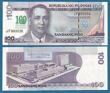 Philippines 100 Piso P 212A UNC 2011 Commemorative De La Selle Low Shipping!