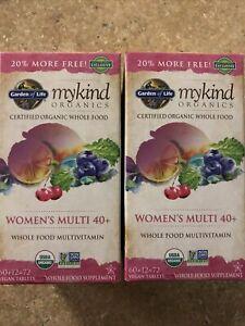 Garden Of Life Mykind Organics Womens Multi 40+ 144 Tablets Exp 03/2024