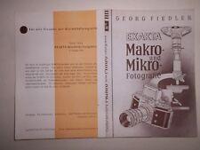 ORIGINAL  EXAKTA VAREX  IHAGEE DRESDEN 1956 Prospekt Kamera  DDR