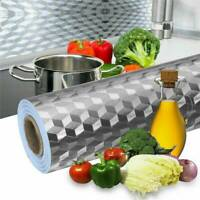 Kitchen Oil-Proof Sticker Self-Adhesive Waterproof Aluminum Foil Wall Stickers Y