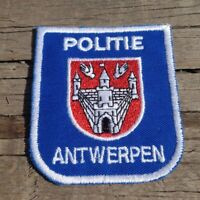 """Politie Antwerpen Belgian 3"""" Police Patch"""