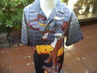 Trust men's Novelty poly shirt size Large NWT