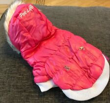 Pet life Classic Dogs Parka Jacket XS Pink Brand New With Tags