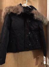 NEW DKNY ladies winter coat/parka . Black size XS