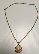 "bijou fantaisie: pendentif ""Monet"" chaine plaquée OR ""fix"""
