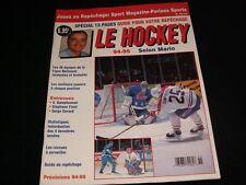 LE HOCKEY 94-95 ° MARIO TREMBLAY  <> AOUT 1994