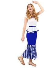 Déguisement de gauloise blanc et bleu femme - Cod.237921