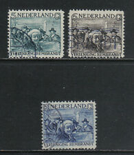 Netherlands 1930 Rembrandt semipostal--Attractive Art Topical (B41-43) used