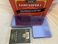 Combo Card saver 1 (10) + soft sleeves (100) + 20pt Top Loaders (10)