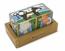 Kids Toy Game Farm Sound Blocks - 11196 - Melissa and Doug