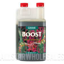 Canna Boost Accelerator 1 Liter Hydroponics Nutrient Bloom Big Bud Enhancer 1L