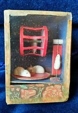 Antique Celluloid MOUSE Hand Crank Action Shadow Box ~ Ray Rohr Cosmic Artifacts