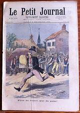 Le petit Journal 9/09/1893; Plus de beurre que de pain/ François 1et et Charles