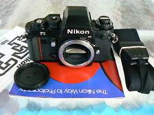 NIKON F3HP CAMERA BODY W/NIKON MF-14 DATABACK *PRO 35MM SLR CAMERA *TESTED & EX+