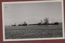 Fawley Oil Refinery Jetty, 1952, 'Giovi' (nearest berth)   photograph qc.1