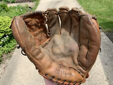 New listing Early Wilson A2010 Baseball Glove Made In The USA Johnny Antonelli