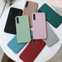 For Huawei P20 P30 Pro Mate 20 Lite P Smart Frosted Soft Rubber Matte Case Cover