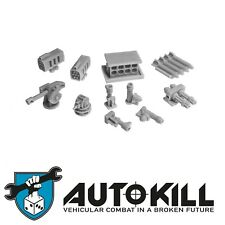 Zinge Industries - AutoKill - Gaslands - Heat Seeker missiles 20mm scale S-DMH11