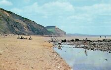 CHARMOUTH Dorset Beach and Golden Cap Unused Original Postcard (60280)