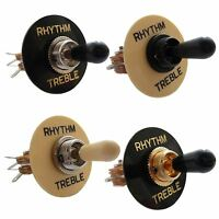 3 Way Straight Toggle Switch & Surround for Gibson, Les Paul, Sg, Epiphone etc..