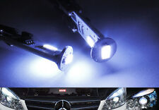 2x SAMSUNG 3 SMD LED 168 194 Front Side Marker Light For Mercedes No Error White