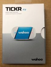 New Wahoo Fitness TICKR Bluetooth and Ant+ Heart Rate Strap Black