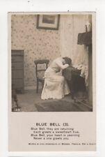 Blue Bell Bamforth Song Vintage RP Postcard 381a