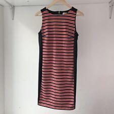 MICHAEL KORS Womens Striped Short-sleeve Dress, AU Size 10