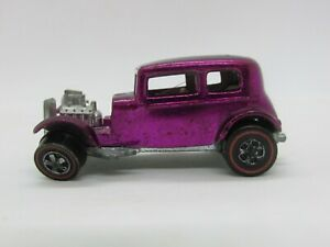 Vintage 1968 HOT WHEELS Red Line Class '32 FORD VICKY, Purple