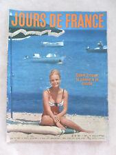 JOURS DE FRANCE N° 401 du 21 JUILLET 1962 CHARLES AZNAVOUR CATHERINE DENEUVE