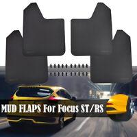 Mud Flaps Mudflaps Splash Guards For Ford Focus ST RS SE Sport Set Fender