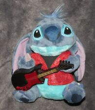 THE DISNEY STORE STUFFED PLUSH LILO & AND STITCH WITH GUITAR MUSICAL TOY DOLL