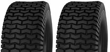 (TWO) 15X6.00-6 15X6.00X6  RIDING LAWN MOWER TURF TIRES 4PLY RATED