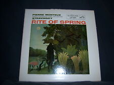 LM-2085 Pierre Monteux/Paris Conservatoire Orch Stravinsky - The Rite Of Spring