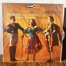 Eugene Ormandy Bizet Carmen Suite LP Columbia Stereo 2 eye EX